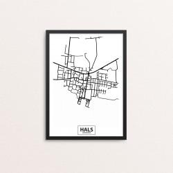 Plakat: By, 9370 Hals