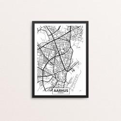 Plakat: By, 8000 Aarhus...