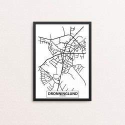 Plakat: By, 9330 Dronninglund