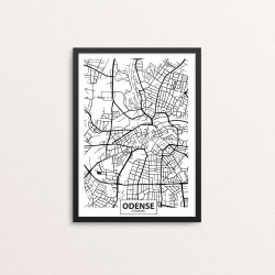 Plakat: By, 5000 Odense