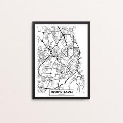 Plakat: By, 0900 København