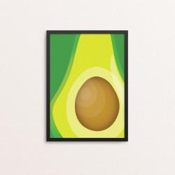 Plakat: Frugt, Avocado,...