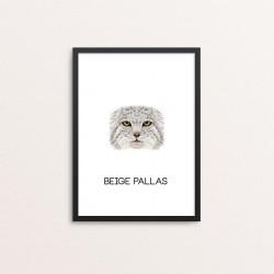 Plakat: Beige Pallas