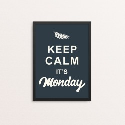Plakat: 'Keep Calm It's...