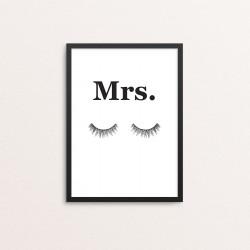 Plakat: Par 'Mrs.' med...