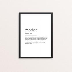 Plakat: Mother