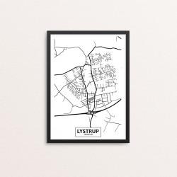 Plakat: By, 8520 Lystrup
