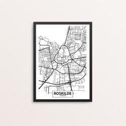 Plakat: By, 4000 Roskilde