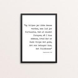 Plakat: Bibelvers,...
