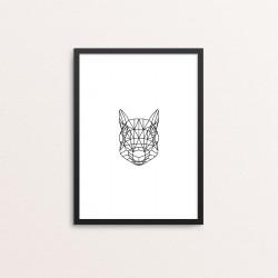 Plakat: Egern, animal...
