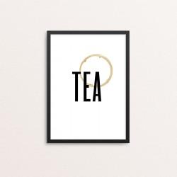 Plakat: Tea With Stain