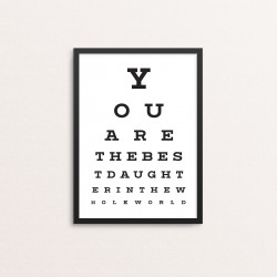 Plakat: Synstavle, Daughter