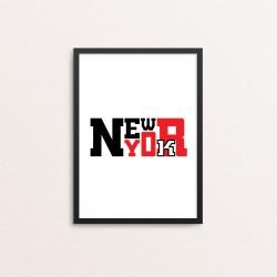 Plakat: New York 002