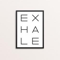 Plakat: Exhale