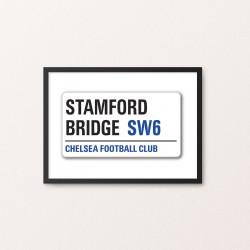 Plakat: Road Sign, Chelsea FC