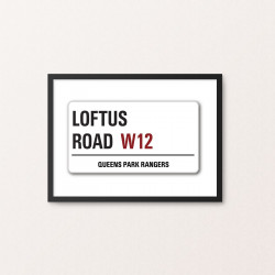 Plakat: Road Sign, Queens...
