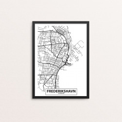 Plakat: By, 9900 Frederikshavn