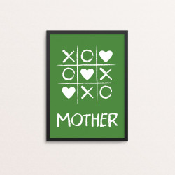 Plakat: Tic Tac Toe, Mother