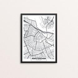 Plakat: By, Amsterdam
