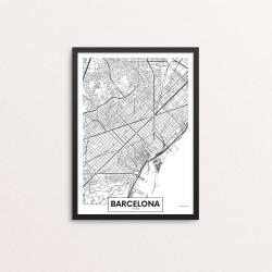 Plakat: By, Barcelona
