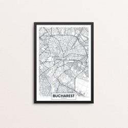 Plakat: By, Bucharest...