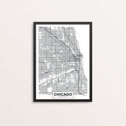 Plakat: By, Chicago