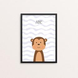 Plakat: Abe, simpel