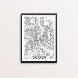 Plakat: By, Cologne