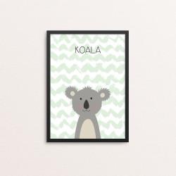 Plakat: Koala, simpel