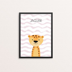 Plakat: Jaguar, simpel