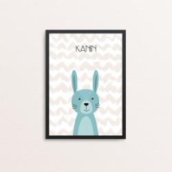 Plakat: Kanin, simpel