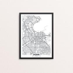 Plakat: By, Doha