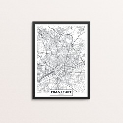 Plakat: By, Frankfurt