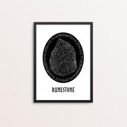 Plakat: 'RUNESTONE'