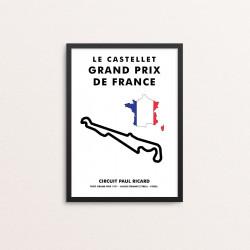 Plakat: LE CASTELLET -...