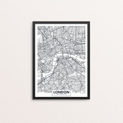 Plakat: By, London