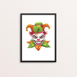 Plakat: Creepy Clown, 1