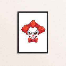 Plakat: Creepy Clown, 2