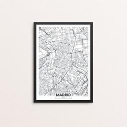 Plakat: By, Madrid