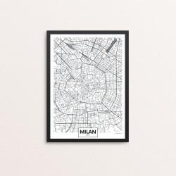 Plakat: By, Milan (Milano)