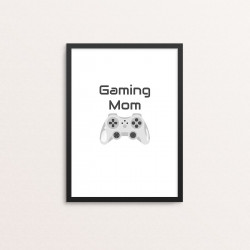 Plakat: 'Gaming Mom'