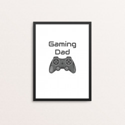 Plakat: 'Gaming Dad'