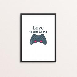 Plakat: 'Love Gaming'