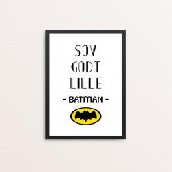 Plakat: 'SOV GODT LILLE...