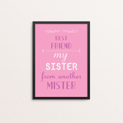 Plakat: 'BEST FRIEND my...