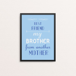 Plakat: 'BEST FRIEND my...