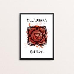 Plakat: 'MULADHARA - Root...