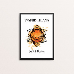 Plakat: 'SVADHISHTHANA -...
