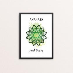 Plakat: 'ANAHATA - Heart...