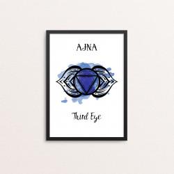 Plakat: 'AJNA - Third Eye'